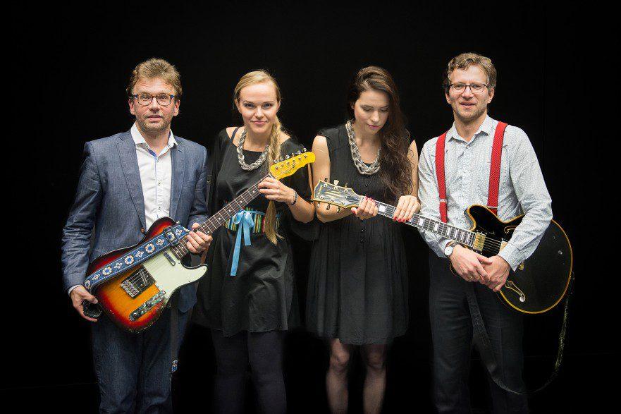 Kuvassa Kadri Voorand, Jaak Sooäär, Liisi Koikson ja Paul Daniel