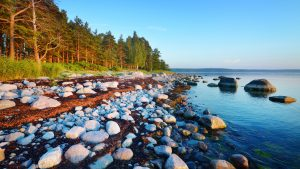 Rocks at the coast of Kasmu (captain's village) Estonia