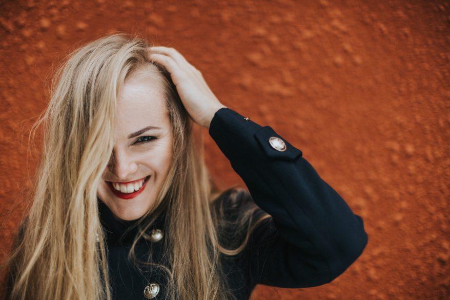 Virolainen jazzlaulajatar Kadri Voorand.