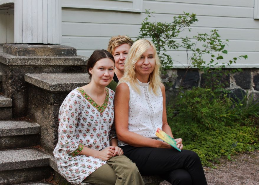 Varja Arola, Anniina Ljokkoi ja Triin Soomets