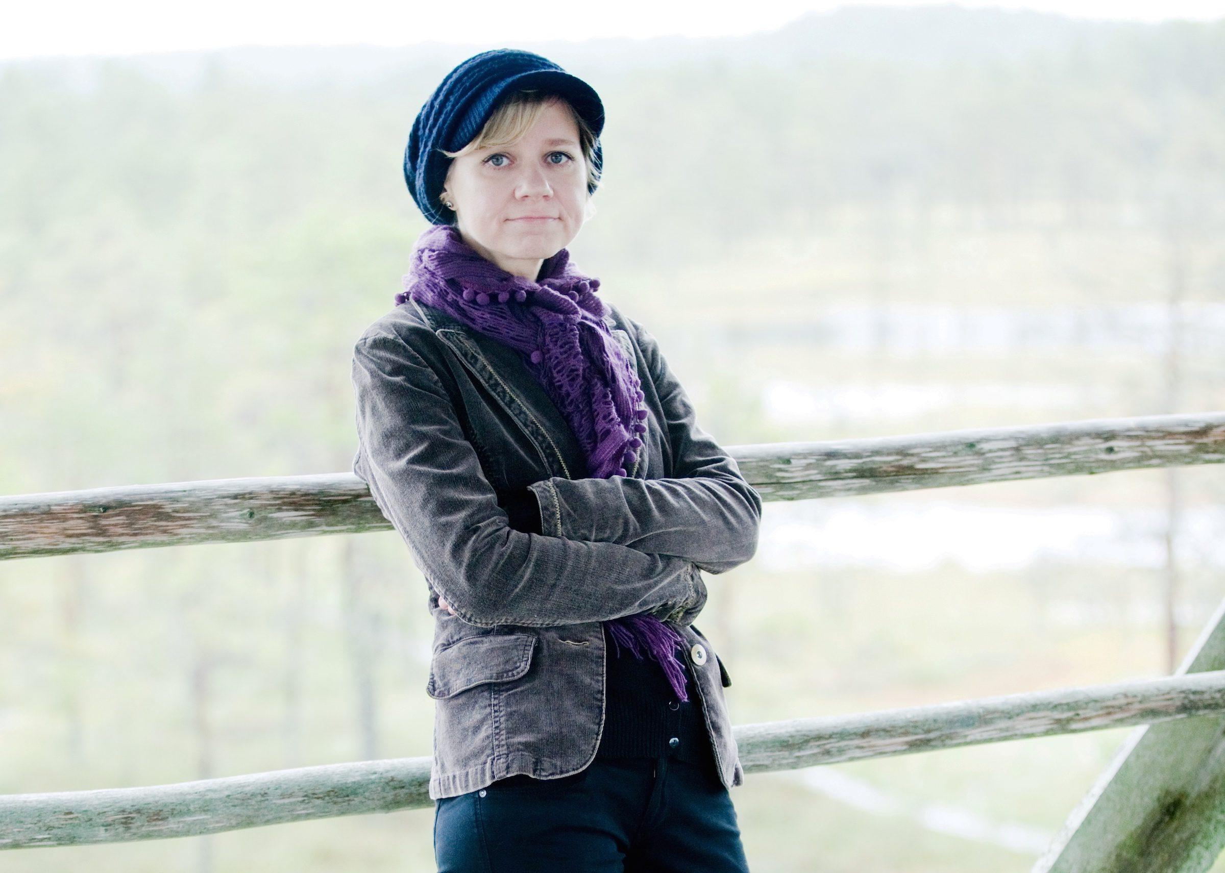 Kuvassa virolainen lastenkirjailija Piret Raud