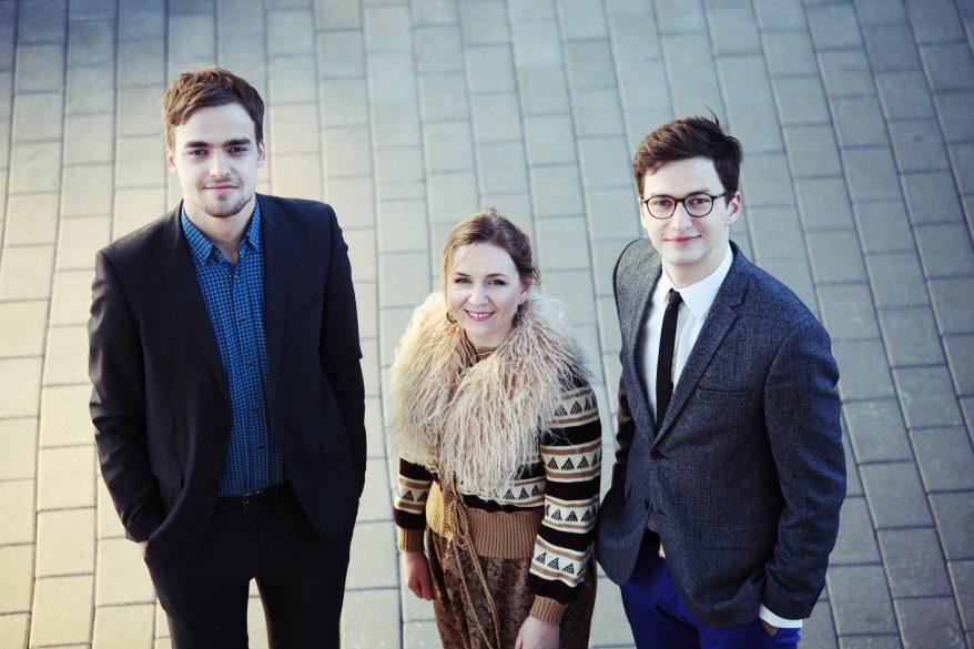 Kuvassa Joel Remmel Trio: Joel Remmel, Heikko Remmel, Aleksandra Kremenetski