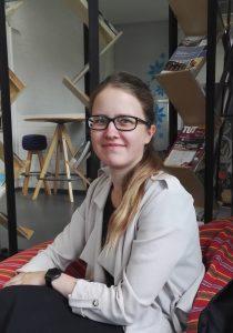 Kuvassa virolainen Helen Pohl
