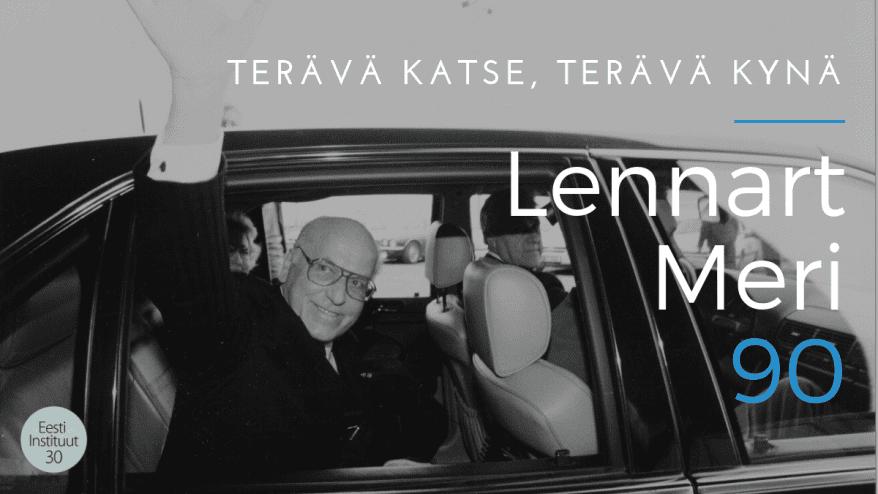 Lennart Meri 90 -näyttely